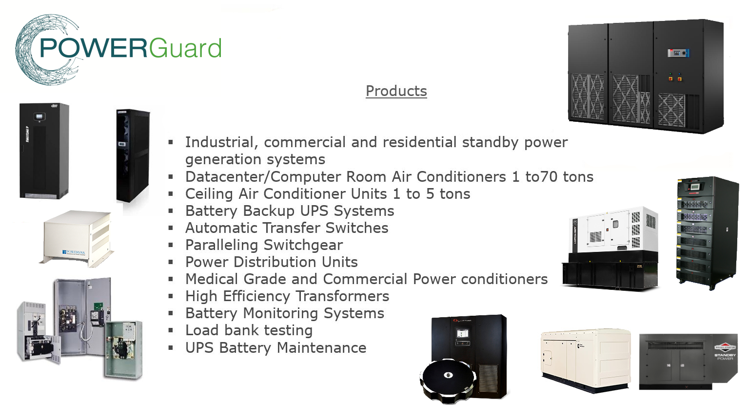 Power Guard Products & Services